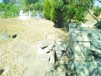 Magandalar Mezarlık Çeşmelerini Kırdı