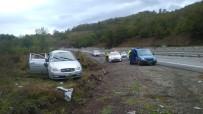 TUANA - Otomobil Takla Attı 5 Yaralı