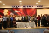 PAZAR ESNAFI - Pazarcık'ta Pazar Yeri İçin Tezgah Kuraları Çekildi