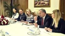 YABANCI YATIRIMCI - TBMM Dışişleri Komisyonu Başkanı Bozkır'ın Kabulü
