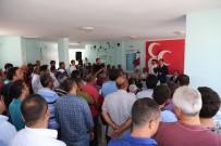 Tuna Açıklaması 'Mersin Büyükşehir Belediyesi'ndeki Bayrağı Düşürmeyeceğiz'