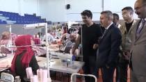KUBAT - Ünlü Giyim Markalarının Ürünlerinin Ağrı'da Üretilmesi Hedefleniyor