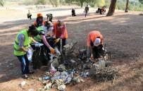 İSMAIL ÜNAL - Uşak Belediyesi'nin Doğa Temizliği Devam Ediyor