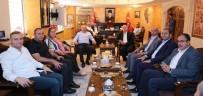 ORHAN MIROĞLU - Ak Parti MKYK Üyesi Orhan Miroğlu'ndan Vali Yaman'a Ziyaret