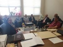 MEHMET ERDEM - Başkan Cömertoğlu'dan Rektör Karabulut'a Ziyaret
