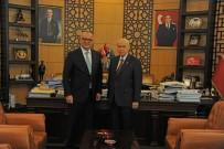 İSMET BÜYÜKATAMAN - Başkan Ergün, MHP Genel Başkanı Devlet Bahçeli İle Buluştu