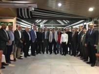 VEZIRHAN - Bilecik İk11 Platformu Üyeleri Vezirhan'da Bir Araya Geldi