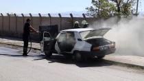 SÖNDÜRME TÜPÜ - Erzincan'da Otomobil Yangını