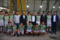 MEHMET EMIN ŞIMŞEK - Gençlik Kolları Futbol Turnası Başladı