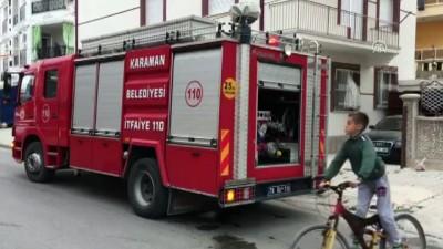 Karaman'da Çakmak Gazı Tüpü Patladı Açıklaması 2 Çocuk Yaralı