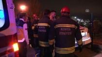 KANYON - Kaza Yapan Alkollü Sürücü Otomobilde Uyuyakaldı