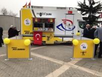 PTT Mobil Şube Fuar Alanında Hizmet Verecek
