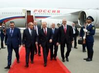 AZERBAYCAN CUMHURBAŞKANI - Rusya Devlet Başkanı Putin Azerbaycan'da
