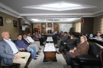 YUSUF ZIYA YıLMAZ - Samsun Milletvekili Yusuf Ziya Yılmaz'dan Başkan Memiş'e Ziyaret