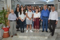 DENIZ YıLMAZ - Uşak'a Gelen Diyarbakırlı Öğrenciler Aşevini Ziyaret Etti.