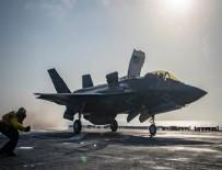 CAROLINA - ABD'de F-35B savaş uçağı düştü