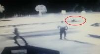 Alkollü Kadın Sürücü Polise Çarptı