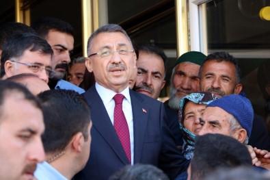 Annesi Vefat Eden Cumhurbaşkanı Yardımcısı Oktay Yozgat'tan Ayrıldı