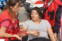 ŞÜPHELİ PAKET - Aydın Kadın Doğum Hastanesinde Gerçeğini Aratmayan Tatbikat