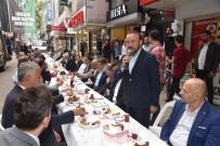 NEVZAT DOĞAN - Başkan Doğan Esnaf Kahvaltısında