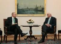 FRANK WALTER STEINMEIER - Cumhurbaşkanı Erdoğan, Alman Mevkidaşı Steinmeier İle Görüştü