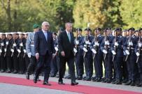 FRANK WALTER STEINMEIER - Cumhurbaşkanı Erdoğan, Almanya'da Askeri Törenle Karşılandı