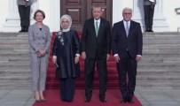 FRANK WALTER STEINMEIER - Erdoğan, Almanya'da Askeri Törenle Karşılandı