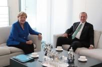 İSLAM BIRLIĞI - Erdoğan, Merkel İle Görüştü