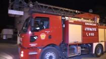 Erzincan'da radyolink istasyonunda yangın