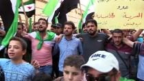 ÖZGÜR SURİYE ORDUSU - İdlibliler Rejimin Alıkoyduğu Sivillere Özgürlük İstedi