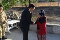 Kaymakam Şahin'den Şehitlik Ziyareti