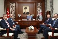 MUSTAFA YıLDıZ - MEB Daire Başkanları Vali Pehlivan'ı Ziyaret Etti