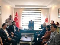 JEOLOJI - Milletvekili Erdoğan'dan Jeoloji Mühendisleri Odası Başkanı Arslanoğlu'na Ziyaret