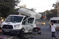 MEHMET ÇIÇEK - (Özel) İstanbul'da Beton Pompası Dehşeti Kamerada