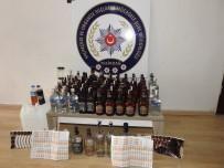 KİMYASAL MADDE - Sahte İçki Üretimi Ve Satışı Yapanlara Operasyon