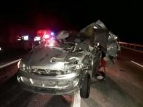 Toprakkale'de Trafik Kazası Açıklaması 1 Ölü, 5 Yaralı