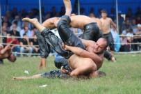 BAŞPEHLİVAN - 6. Altın Kemer Yağlı Güreşleri Başladı