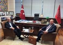 MESUT ÖZAKCAN - Başkan Özakcan, CHP Lideri Kılıçdaroğlu İle Görüştü