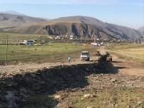 Çıldır Kaşlıkaya Köyü Yolunda Çalışmalar Sürüyor