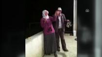 ELEKTRİK HATTI - Evlerine Elektrik Bağlanan Çiftin Mutluluğu Sosyal Medyada İlgi Gördü