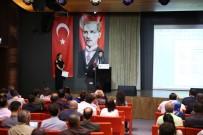 EĞİTİM TOPLANTISI - Kamu İhale Kurumu'ndan AGÜ'de Eğitim