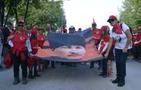 Kastamonu'da 105 Kilometrelik 'Atatürk Ve İstiklal Yolu Yürüyüşü' Sona Erdi