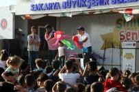 ÇOCUK TİYATROSU - Kilis'te Suriyeli Çocuklara 'Sınırsız Şenlik' Etkinliği Düzenlendi