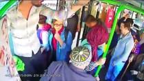 HALK OTOBÜSÜ - Otobüs Şoförü Fenalaşan Yolcuyu Hastaneye Yetiştirdi