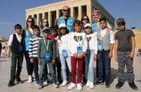 ZEYTIN DALı - (Özel) Şehit Musa Özalkan Kültürevi'nde Yetişen Çocuklar Ankara'da