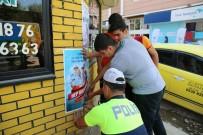 TRAFİK TESCİL - Polis Ekiplerinden 'Bu Yolda Hep Birlikteyiz' Çalışması