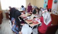 HAT SANATı - Siirt'te Bayanlara Yönelik Kurslar Başladı
