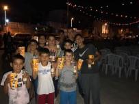 PATLAMIŞ MISIR - Başkan Toprak, Yazlık Sinema'da Avcılarlılarla Buluştu