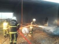 Kahramanmaraş'ta Kereste Fabrikasında Yangın