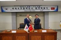 Kardeş Şehir Güney Kore Heyeti Çorum'da